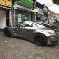 Full Customized Car Wrap Lister Bell car in London – Impact Window Tinting