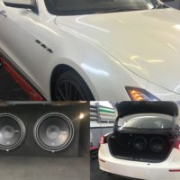 Car Full Sound System Upgrade in London – Impact Window Tinting