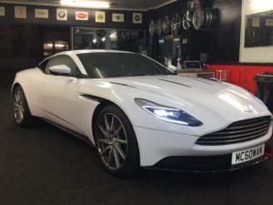 Window Tinting For Aston Martin in London – Impact Window Tinting