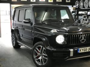 Mercedes Benz G-Class Customization and Modification in London – Impact Window Tinting