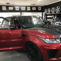 Range Rover Wrapping Service in London – Impact Window Tinting