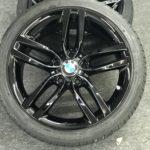 BMW alloy wheel refurbishment in London – Impact Window Tinting